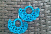 Crochet Lace Earrings / Crochet Lace Earrings