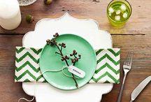 decoração detalhes de mesa