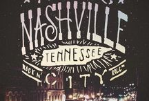 Nashville Lovin' / Think of this board as your one-stop shop to all the awesomeness Nashville has to offer and more. And feel free to shoot us an email if you're visiting our lovely city. thesaltedtable@yahoo.com