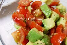 cooking サラダ