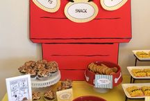 Snoopy Baby Shower