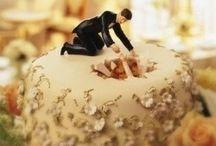 engaged cake