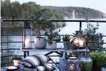 Balcony/garden ideas.
