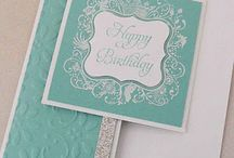 Turquoise card