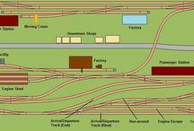 N scale door layouts