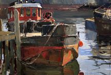 Boats, harbours, jetty's