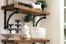 Timber Shelves