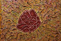 Intuïtief schilder kunst / schilderen gemaakt in mijn atelier, Atelier Kunstig Art