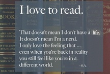 I love to read / by Caitlin Adams