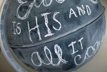 Chalk Board Stuff