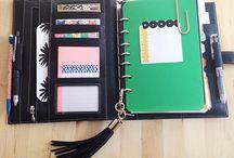Planners/ Filofaxs /Travelers Journals