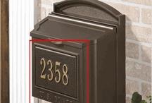 Locking Wall Mount Mailboxes
