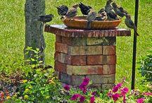 fontes para jardins