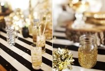 Black and Gold Birthday / by Kelsea Brown
