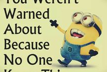 Minion quotes / This type of chain that has minions on every quote they sent out.