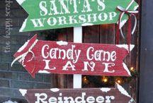 Santa's Grotto Themed Decor