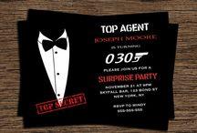 Vasant's bond theme birthday