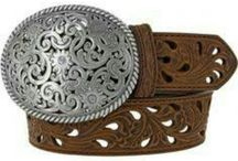 belt / leather belt