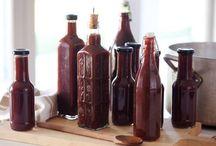 Preserves, sauces and pestos