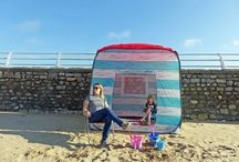 Our Pop Up Beach Huts