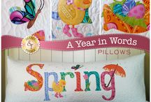 Decorate Through the Year / Seasonal home decor kits and patterns from Shabby Fabrics!