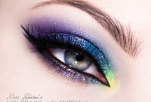Karnawałowe inspiracje! / Wystrzałowy makijaż i piękne paznokcie! :)