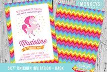 Rainbow magic unicorn party