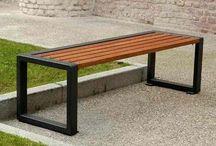 Mesas picnic madera/acero