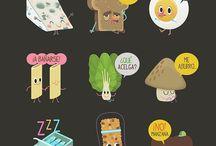 Foods Flat designo