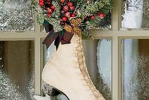 Country Christmas Decor / by Belle