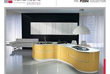 Pedini Collection - Curve Kitchens