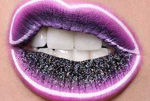 rúzsok szájak