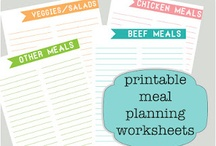 Food / Meal Planning / Meal Planning Resources to help you save time and money. / by i Dream of Clean