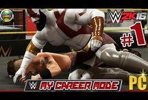 WWE 2K16 My Career Mode Kratos