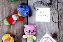 Rattles and Loveys - knit and amigurumi