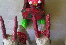Kerst / Panoah Foam Clay Decopatch