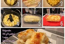 Fırında Sütlü Kaşarlı Patates Tarifi
