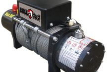 Jual winch / Single line rated pull : 6000lbs(2722)kg Motor : 2.7HP/2.0KW,Series Wound Control Remote : Switch 12ft(3.7m)lead Gear train : 3 Stage planetary Gear Redicition Ratio : 307:1 Clutch : Sliding ring gear Breaking action : Automatic in-the drum Drum Size : Drum size diameter 2.52″(64mm) length 5.26″(134m) Cable : 9/32″ x 79″ (7.2mm x 24mm) Fairled : 4-way roller fairlead Remote Control : Include Battery Recomended : 650CCA minimum for winching
