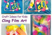 prints & sensory painting
