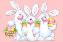 Pascua y primavera-Easter / La estación más alegre del año, una explosión de color. / by Wanda Lis Gar