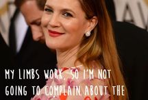 """The Love Quotes Celebrity Quotes : """"My limbs work, so I'm not going to complain about the way my body is s…"""