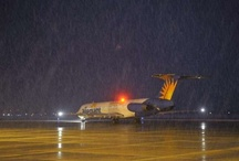 Allegiant's first flight from St. Cloud / by St. Cloud Times newspaper/online
