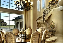 Dining Rooms and Nooks - The Sater Design Collection / Formal and casual dining areas by the Sater Design Collection.