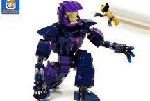 Custom Marvel Lego Models / Folder for my custom models from the Marvel Universe.