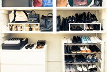 Inside Celebrity Closets / An inside look at the most decked out closets in the world.