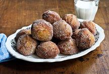recipes: donuts, fried dough / by Alessandrina