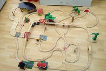 Train set layouts