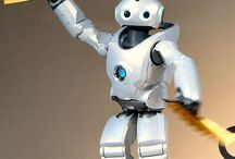 Robots / Coming across some really cool robots whilst researching for our Robots and Avatars exhibition!