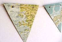 Paper bunting / Paper