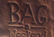 BAG a Weekend / Malas com estilo hippie chic para um fds em grande estilo.